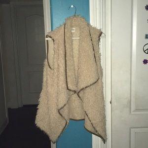 Sweaters - Furry cardigan
